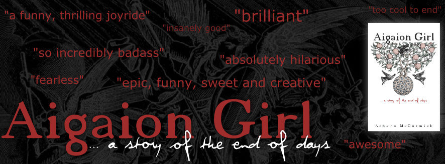 Aigaion Girl... a story of the end of days.